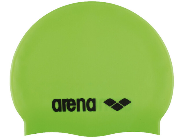 arena Classic Silicone Swimming Cap Barn acid lime-black